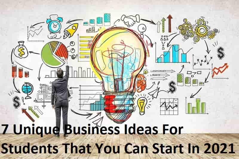 Unique Business Ideas For Students - Business John