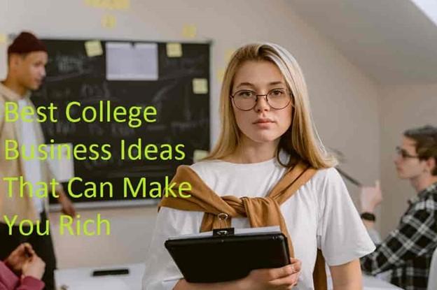 Best College Business Ideas