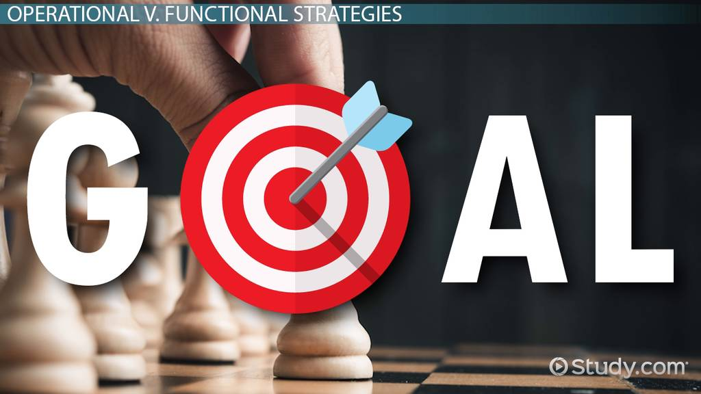 How Do Functional Tactics Compare To Business Strategies